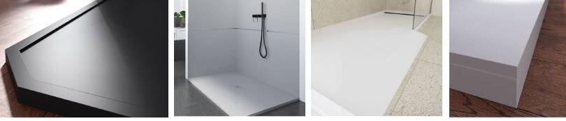 Acabados opcionales en los platos de ducha de PROFILTEK