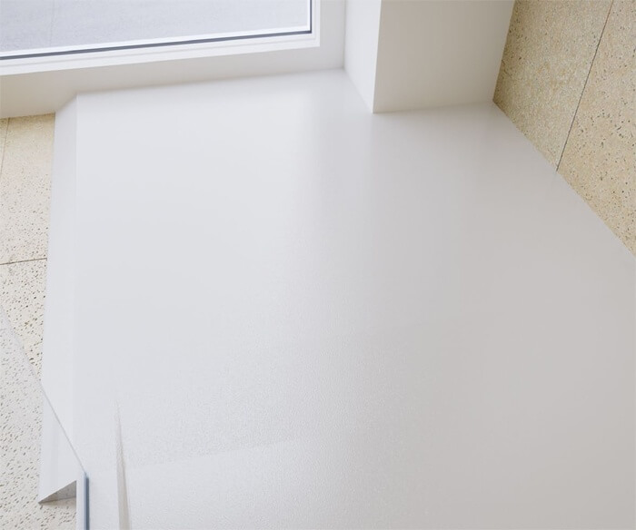 Rampa de acceso al plato de ducha