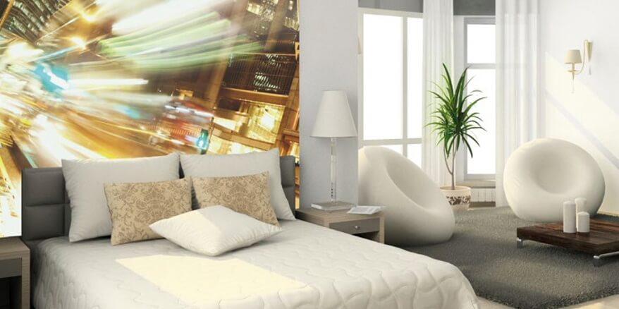 cabeceira de cama vidro impresso PROFILTEK