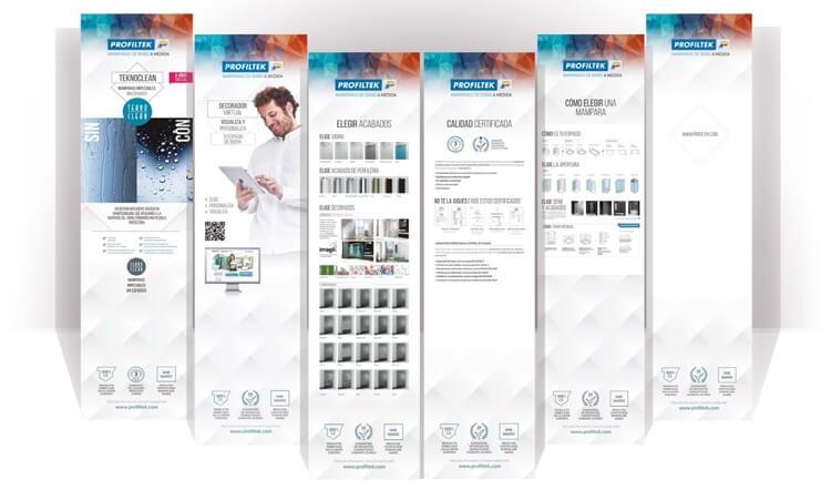 cartazes promocionais profiltek