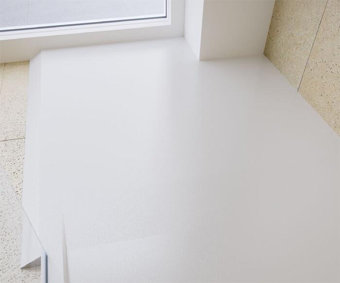 Rampa de acesso à base do duche