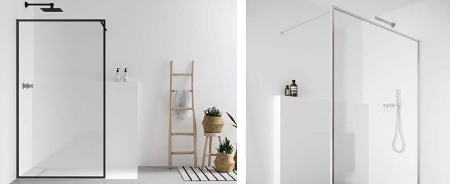 Nouvelle série de parois de douche à l'italienne Nordic de PROFILTEK