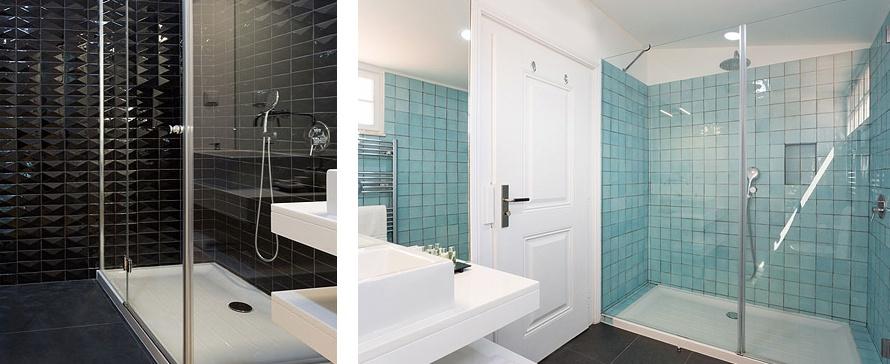 SHFA choisit PROFILTEK pour les parois de douche d'Hôtel
