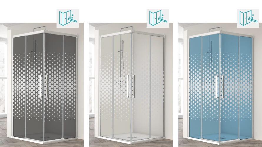 une paroi de douche sur mesure fabriqu e exclusivement. Black Bedroom Furniture Sets. Home Design Ideas