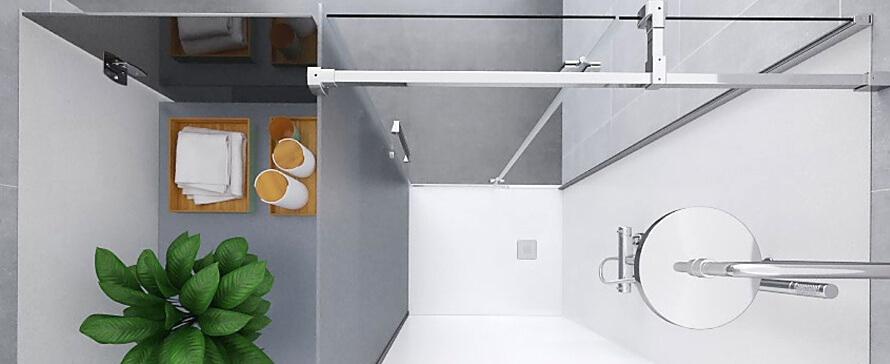 Como trocar a banheira pelo duche e aproveitar o espaço com a KONVERT