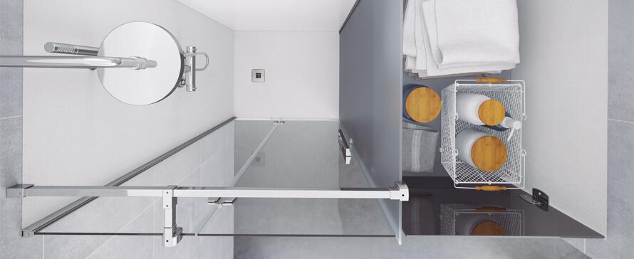 Konvert, a melhor opção para substituir a banheira por um duche. Uma solução inovadora