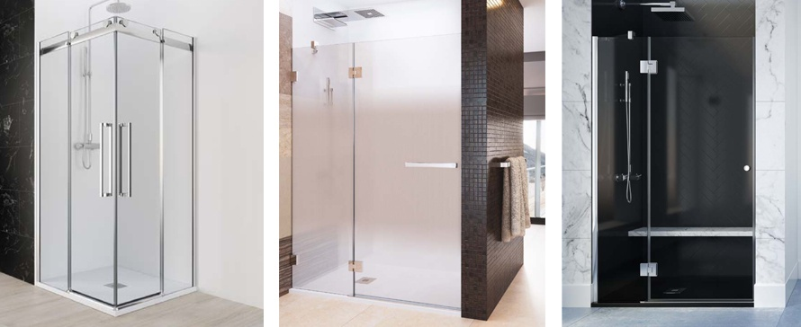 Que divisória se adequa melhor às dimensões da sua casa de banho?